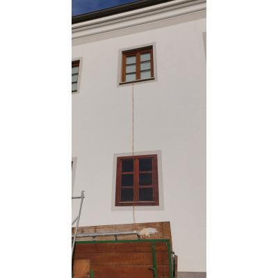 ESG 6mm Optywhite Keramikdruck Fenster