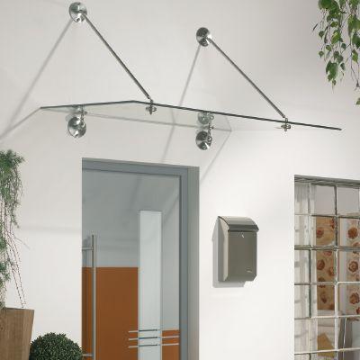 Vordach Set, mit Norm-Zugstange 1208mm